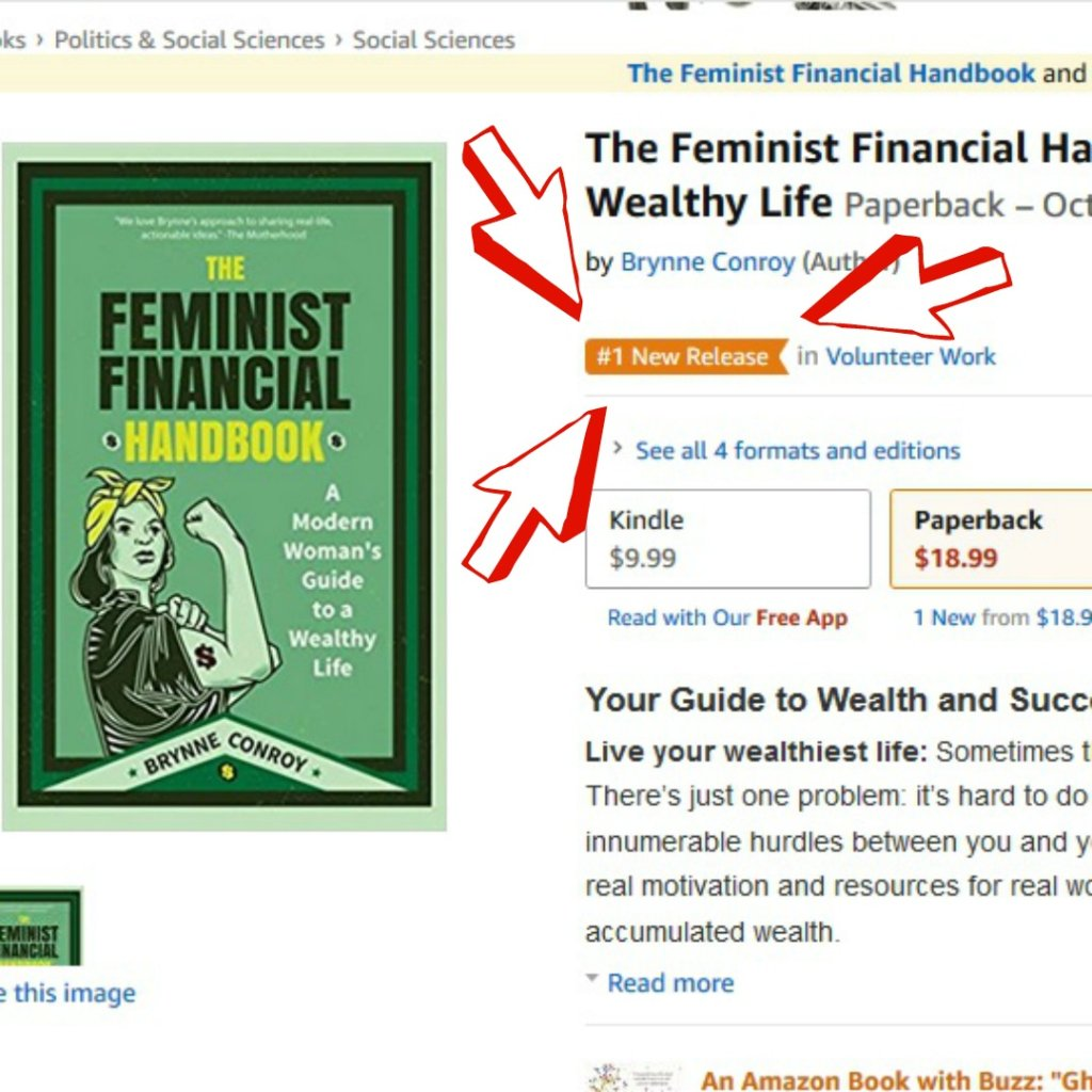 The Feminist Financial Handbook Amazon Number One New Release