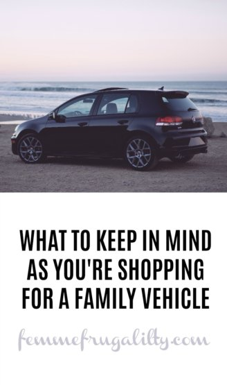 TIps for family car shopping
