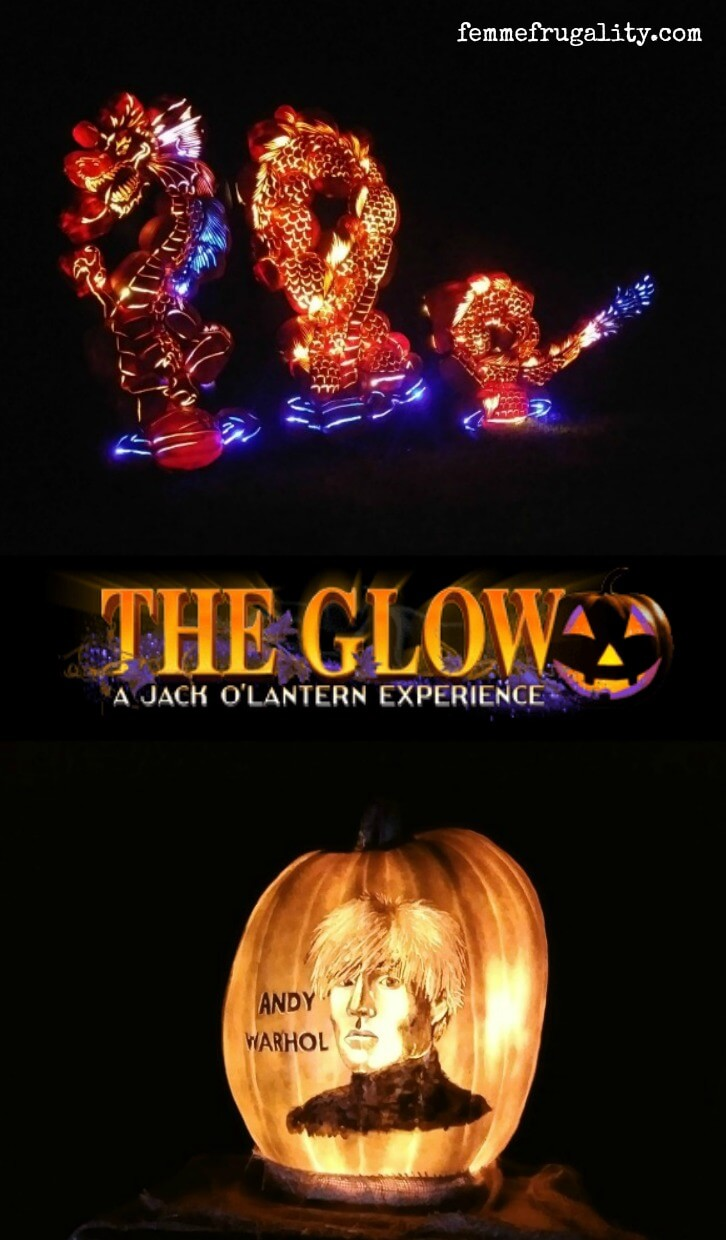 DUDE. I'm taking my kids to this before Halloween---THE GLOW looks so cool!