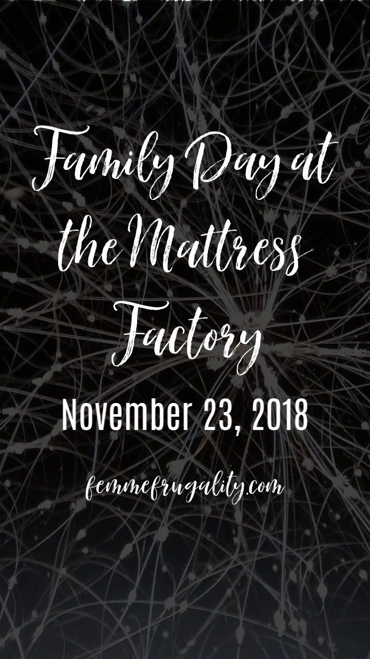 So excited to check out all the free art programs this weekend at The Mattress Factory in Pittsburgh!
