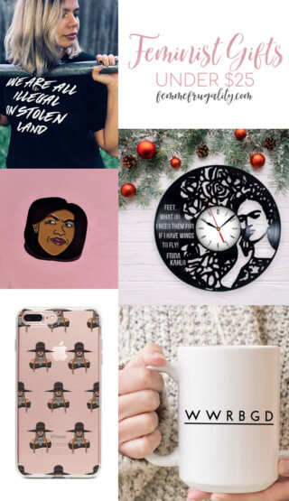 This is so awesome. Definitely loading up my Chirstmas shopping list with a lot of these frugal feminist gift ideas!