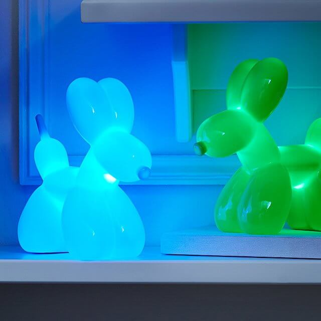 led dog night light
