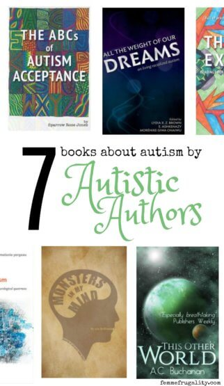 Great reads for parents of autistic kids! Books about autism by acutally Austistic authors.