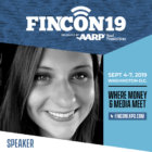 Brynne Conroy speaking at FinCon19 in Washington, D.C.