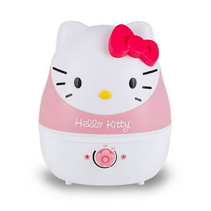 Dehumidifer decorated as Hello Kitty